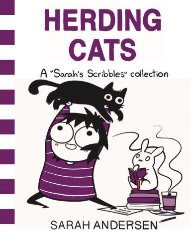 Sarah's Scribbles: Herding Cats