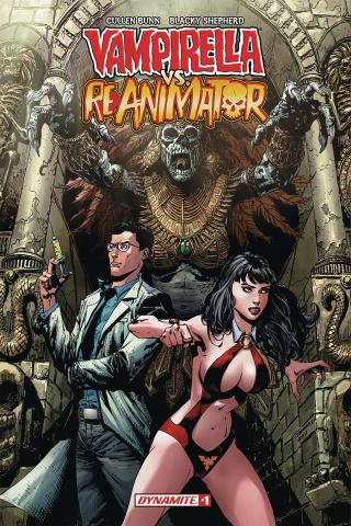Vampirella vs. Reanimator #1 (Desjardins Cover)