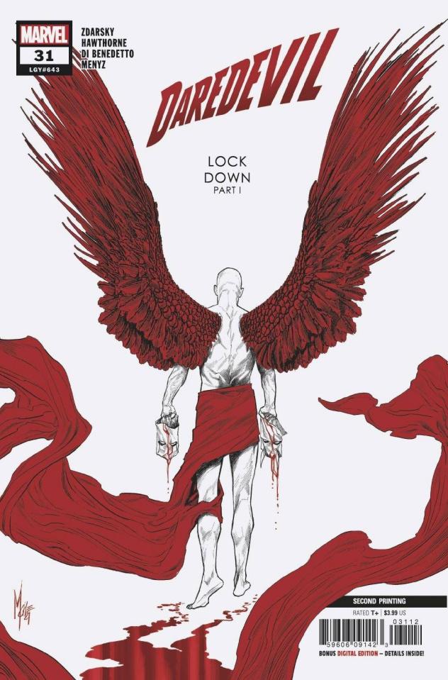 Daredevil #31 (2nd Printing)