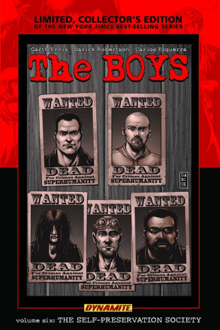 The Boys Vol. 6: The Self-Preservation Society (Signed Edition)