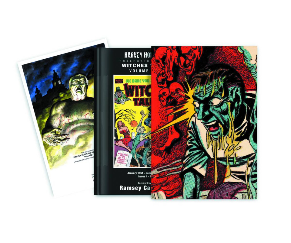 Harvey Horrors: Witches Tales Vol. 1: Slipcase Edition