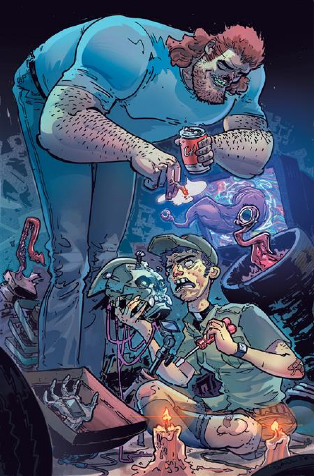 DC Horror Presents: Soul Plumber #1 (Tom Neeley Card Stock Cover)