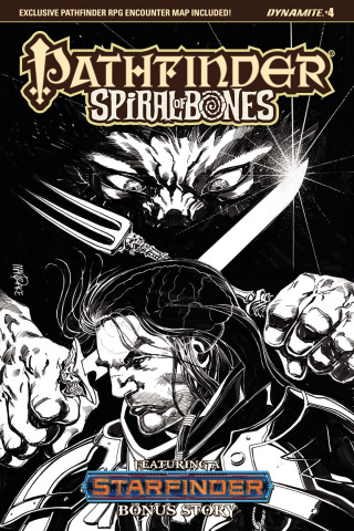 Pathfinder: Spiral of Bones #4 (10 Copy Mandrake Cover)