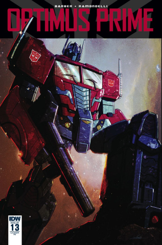 Optimus Prime #13 (10 Copy Cover)