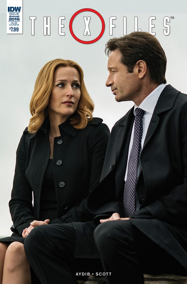 The X-Files Annual 2016 #1 (Subscription Cover)
