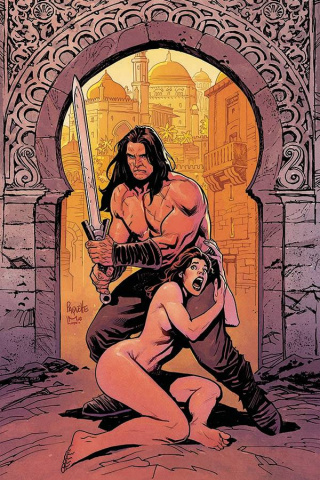 The Cimmerian: The Man-Eaters of Zamboula #1 (10 Copy Paquette Cover)