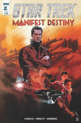 Star Trek: Manifest Destiny #2 (Subscription Cover)