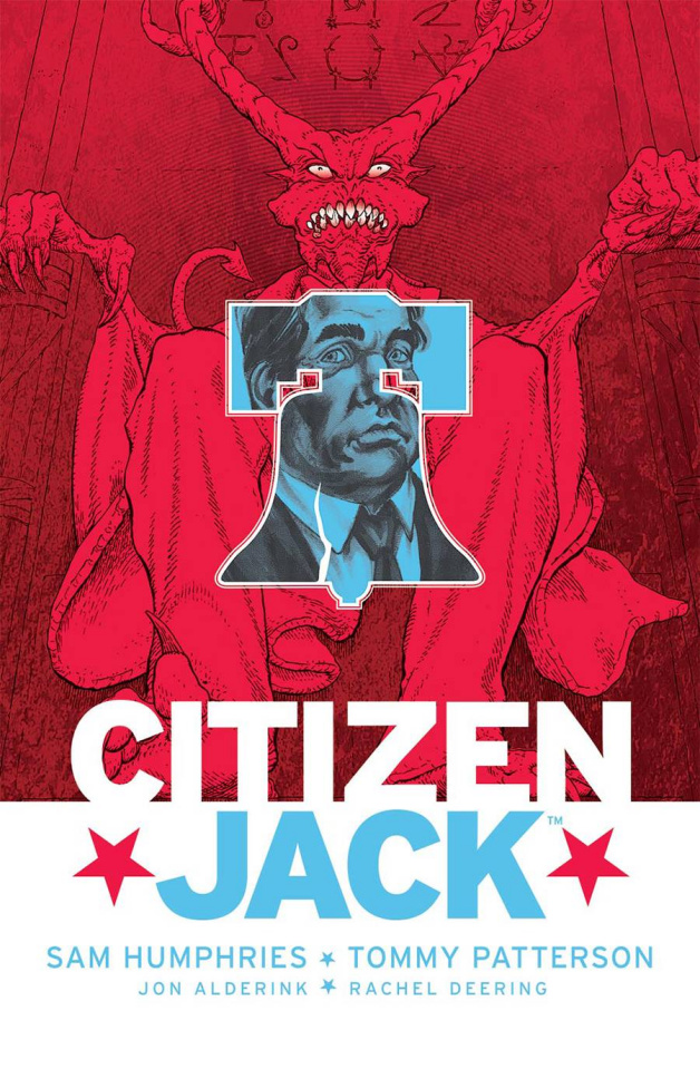 Citizen Jack #5 (Patterson & Todd Cover)