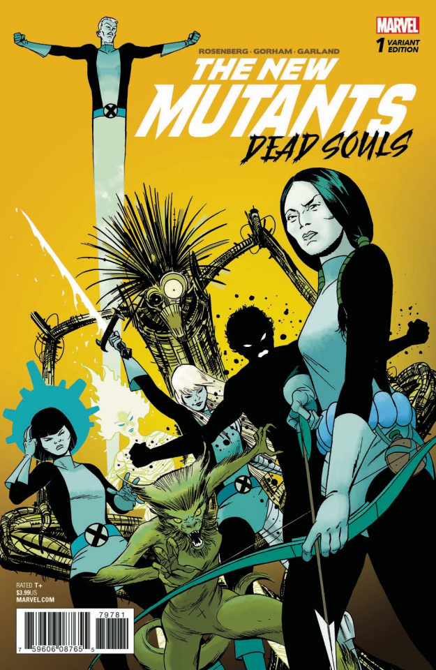 The New Mutants: Dead Souls #1 (Martin Cover)
