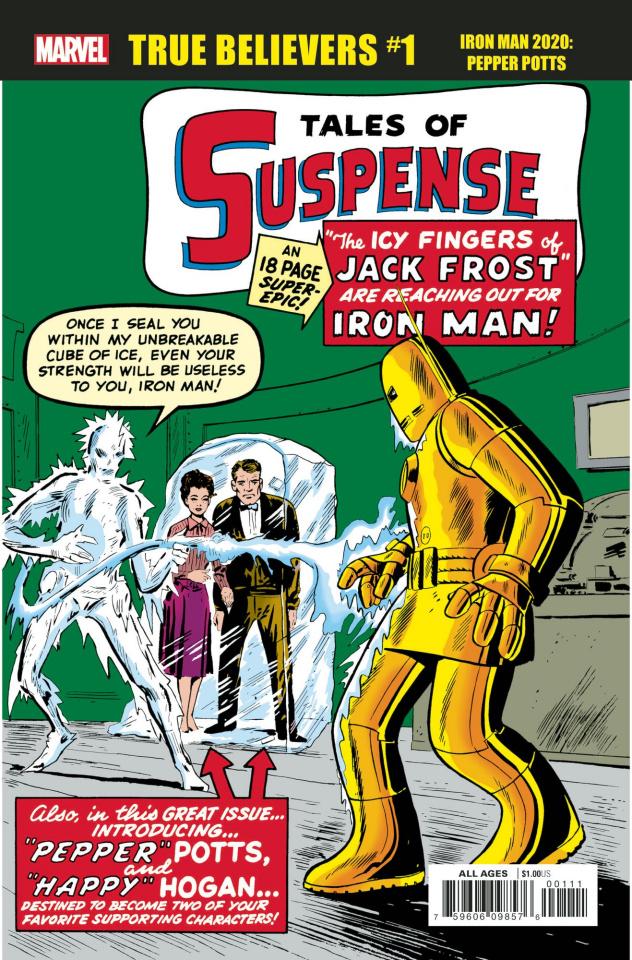 Iron Man 2020: Pepper Potts #1 (True Believers)