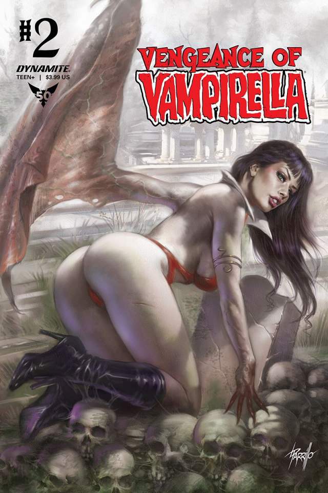 Vengeance of Vampirella #2 (Parillo Cover)