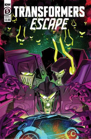Transformers: Escape #5 (McGuire-Smith Cover)