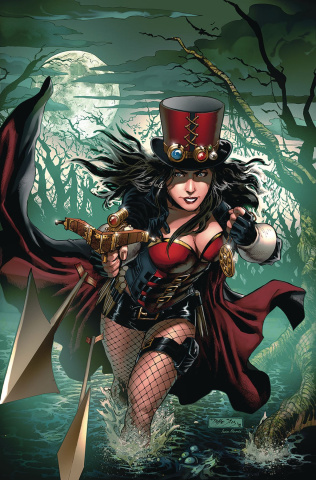 Van Helsing: The Sword of Heaven #5 (Diaz Cover)
