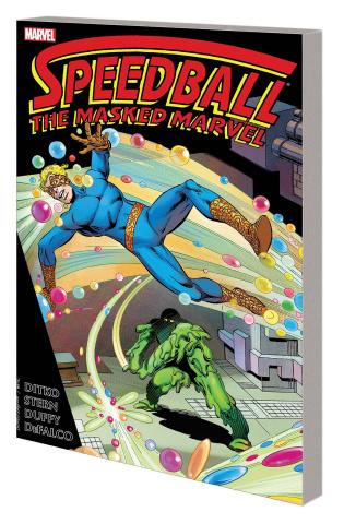 Speedball: The Masked Marvel