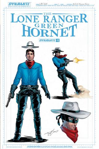 The Lone Ranger / The Green Hornet #1 (15 Copy Ranger Cover)