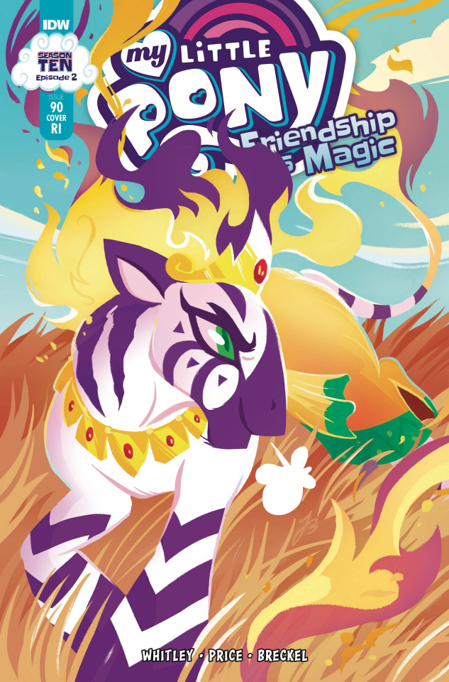 My Little Pony: Friendship Is Magic #90 (10 Copy JustaSuta Cover)