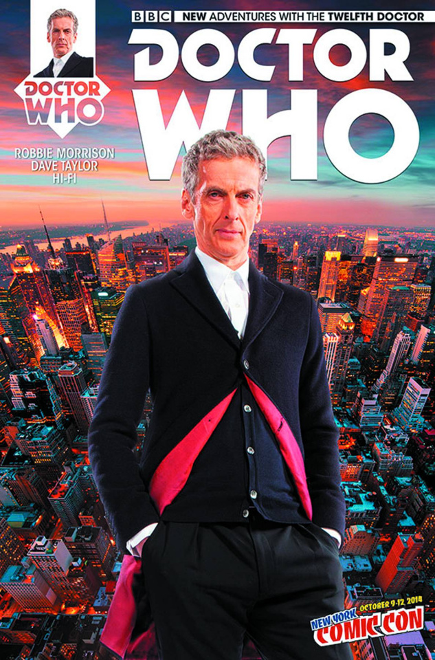 Doctor Who: New Adventures with the Twelfth Doctor #1 (NYCC Cover)