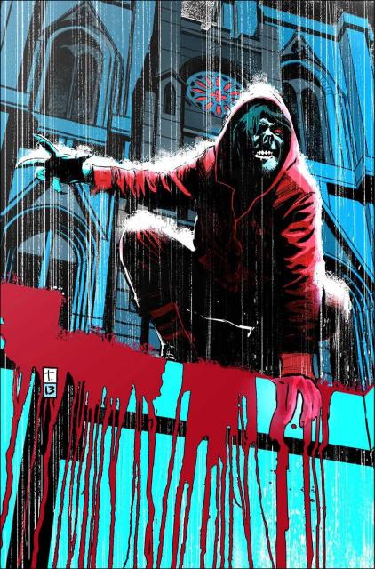 Morbius: The Living Vampire #3 (Coker Cover)