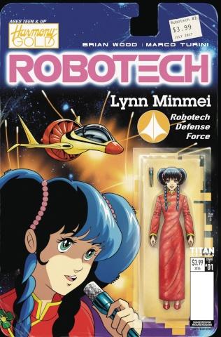 Robotech #2 (Action Figure Var Cover)