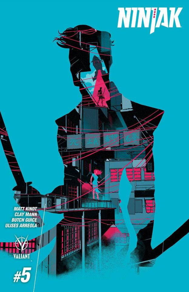 Ninjak #5 (10 Copy Allen Cover)
