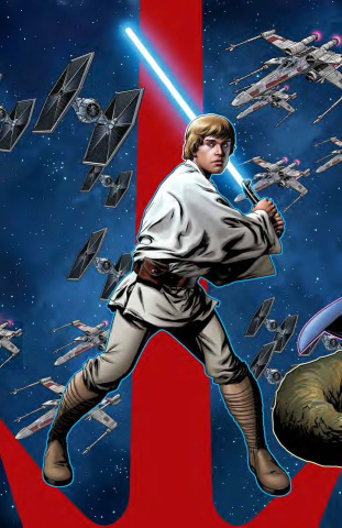 Star Wars: Age of Rebellion - Luke Skywalker #1 (McKone Puzzle Cover)