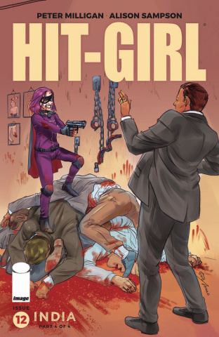 Hit-Girl, Season Two #12 (Roman Cover)