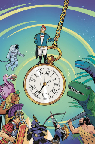 The Thrilling Adventure Hour #3 (Subscription Bustos Cover)