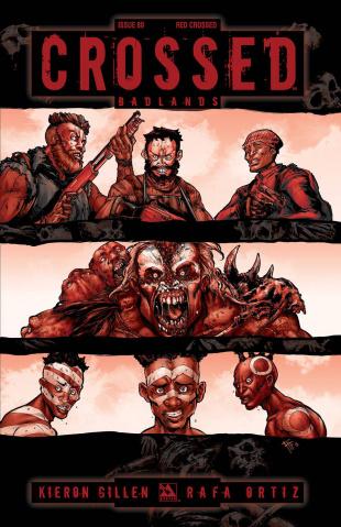 Crossed: Badlands #80 (Red Crossed Cover)