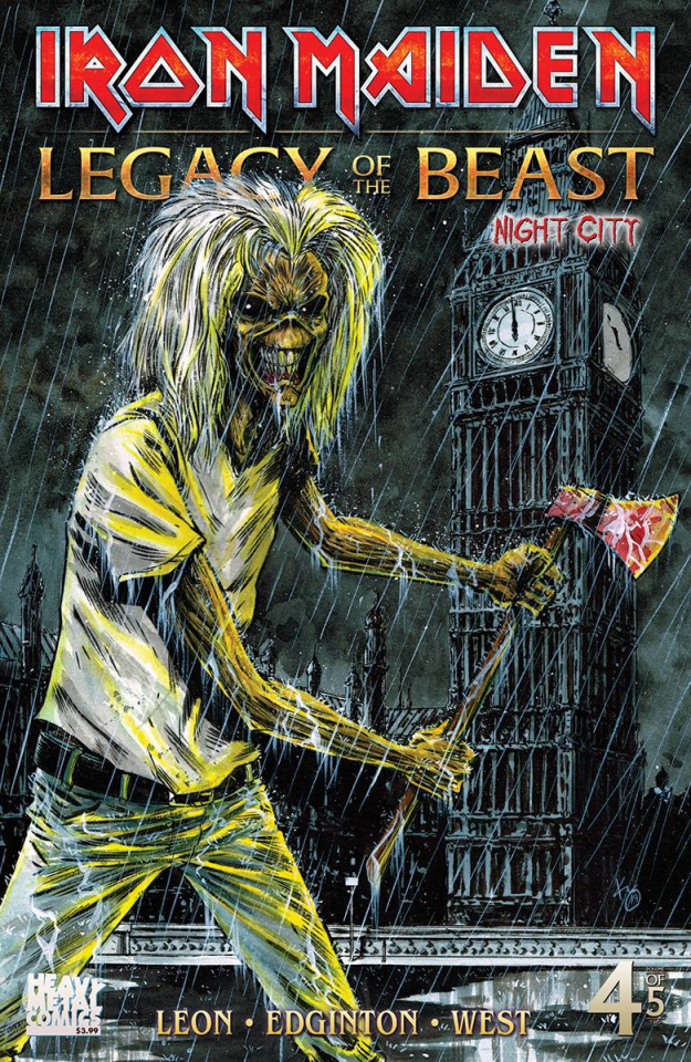 Iron Maiden: Legacy of the Beast - Night City #4 (Williams Cover)