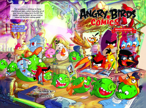 Angry Birds Vol. 5: Ruffled Feathers