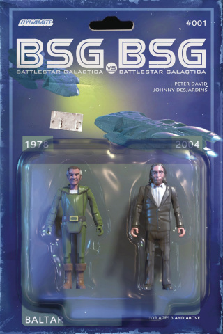 BSG vs. BSG #1 (Baltar Action Figure Cover)