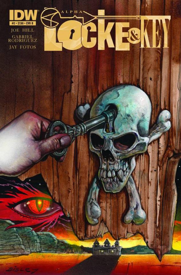 Locke & Key: Alpha #2 (Bisley Cover)