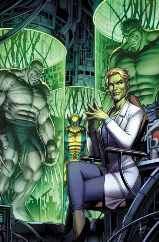 Hulkverines #1 (Keown Skrulls Cover)