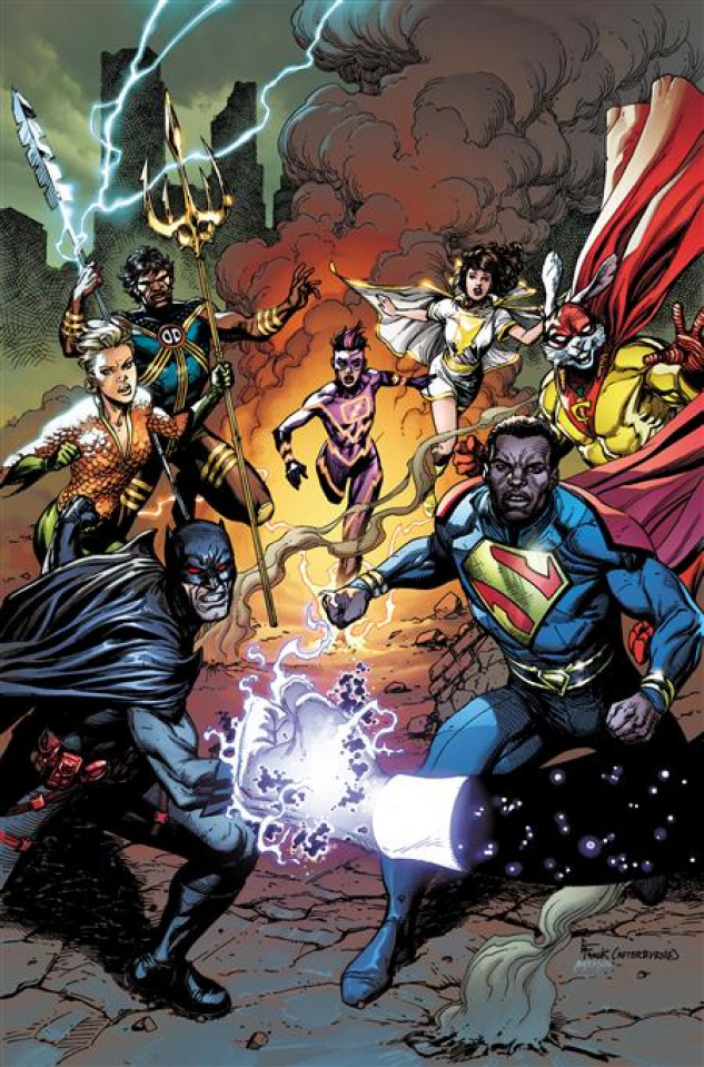 Justice League Incarnate #1 (Gary Frank Cover)