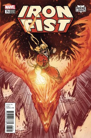 Iron Fist #75 (Johnson Phoenix Cover)