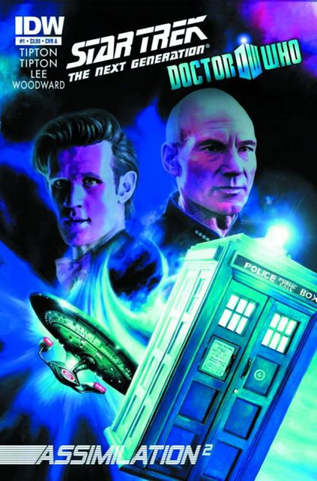 Star Trek: The Next Generation/Doctor Who - Assimilation #1 (2nd Printing)