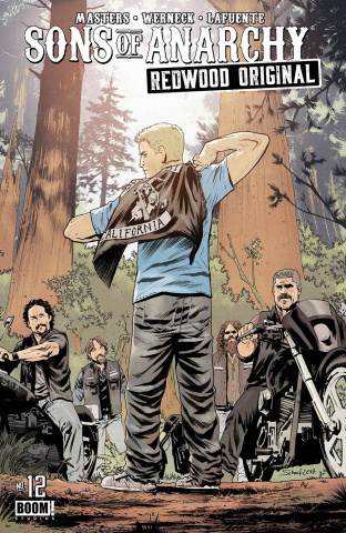 Sons of Anarchy: Redwood Original #12 (Subscription Scharf Cover)