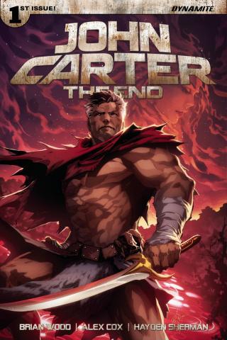 John Carter: The End #1 (Tan Subscription Cover)