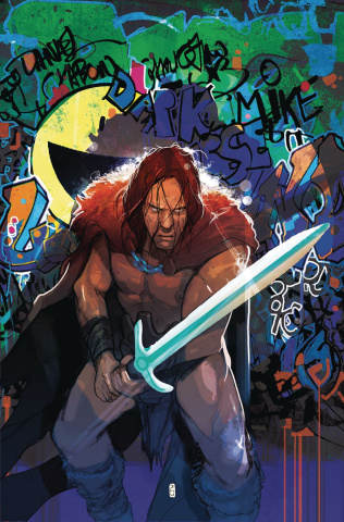 Berserker: Unbound #4 (Ward Cover)