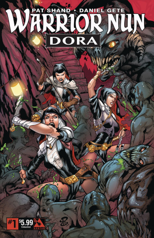 Warrior Nun: Dora #1 (Unleashed Cover)