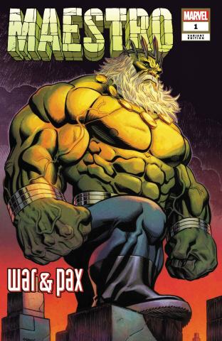 Maestro: War & Pax #1 (McGuinness Cover)