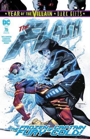 The Flash #76 (Dark Gifts Cover)