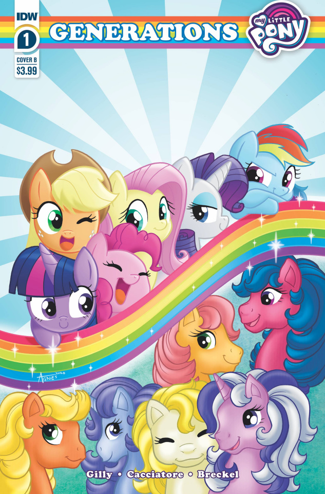 My Little Pony: Generations #1 (Garbowska Cover)
