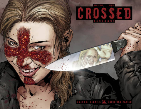 Crossed: Badlands #51 (Wrap Cover)