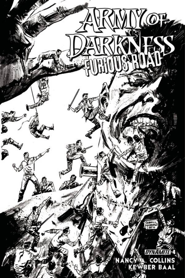 Army of Darkness: Furious Road #4 (10 Copy Cover)