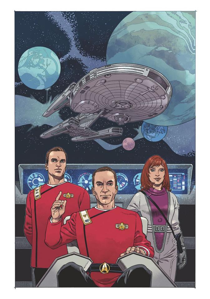 Star Trek: IDW 2020 (Woodward Cover)