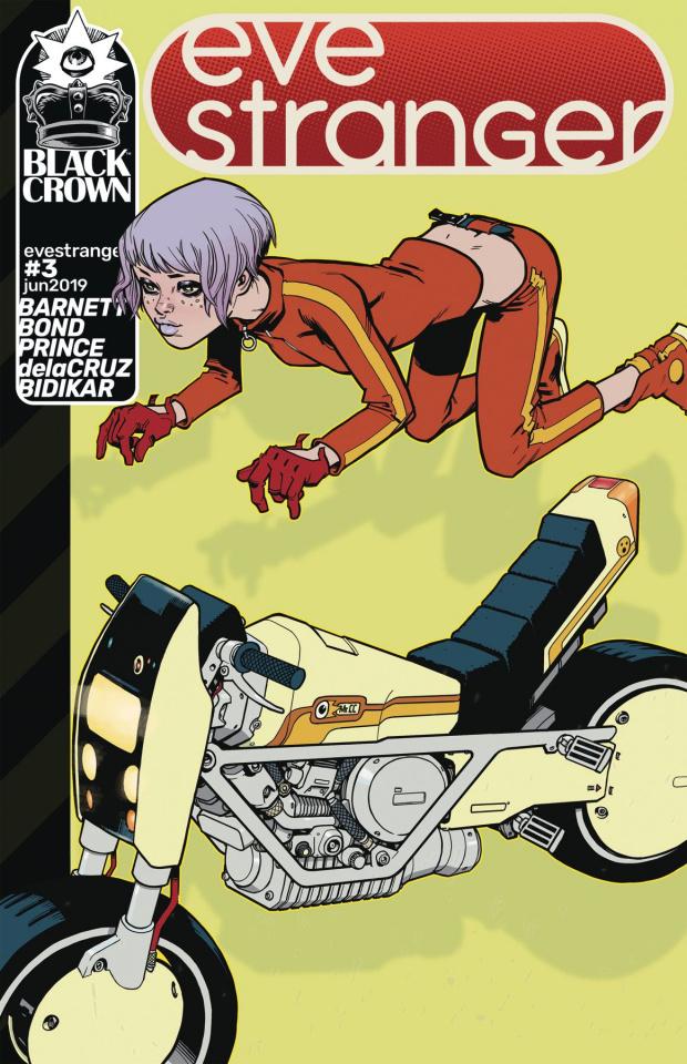Eve Stranger #3 (Bond Cover)