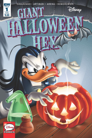Giant Halloween Hex #1 (Subscription Cover)