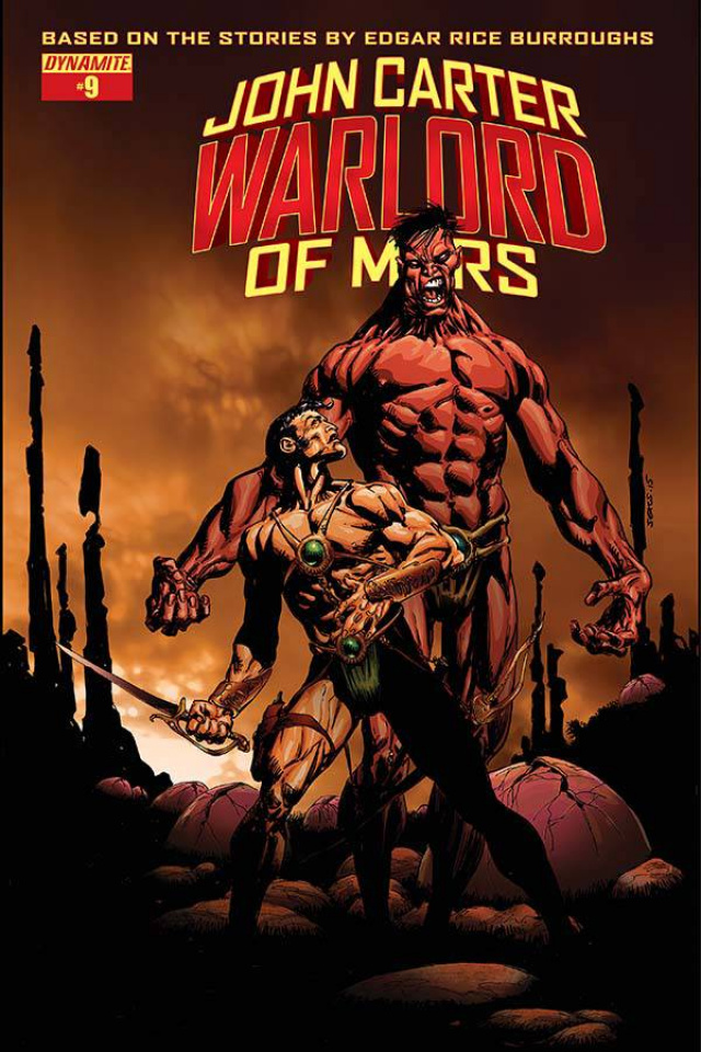 John Carter: Warlord of Mars #9 (Sears Cover)