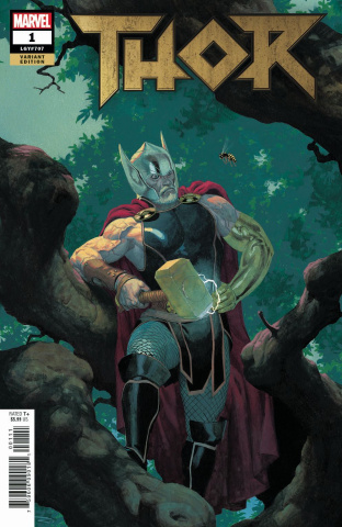 Thor #1 (Ribic Cover)